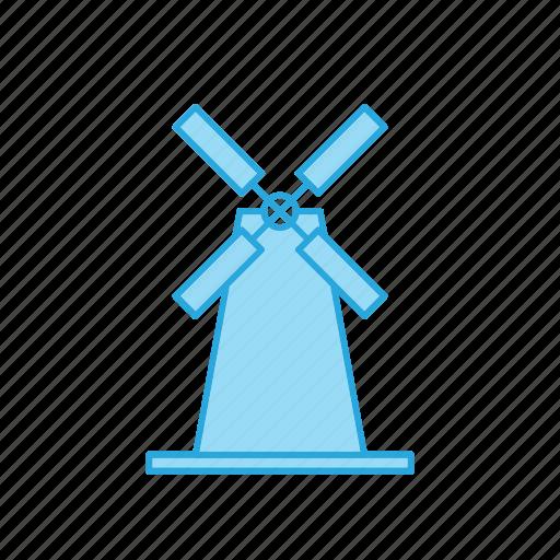 mill, windmill icon