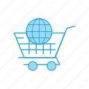 shopping, trolley, world