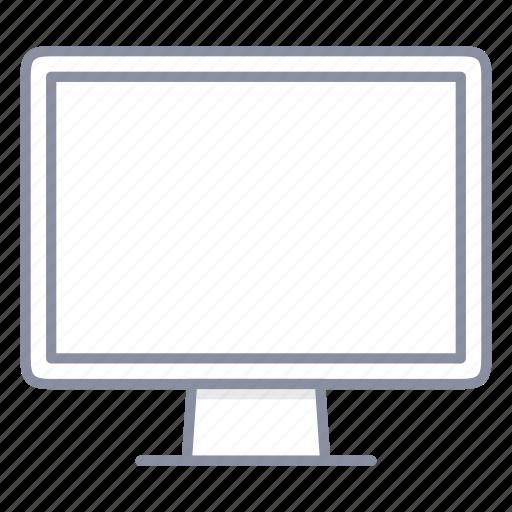 computer, desktop, mac, monitor icon