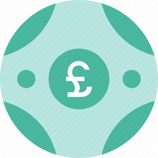 coin, currency, money, pound, sign icon