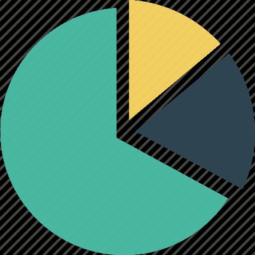 chart, graph, pie, pie chart, pie graph, statistics icon