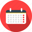 agenda, calendar, date, month, schedule icon