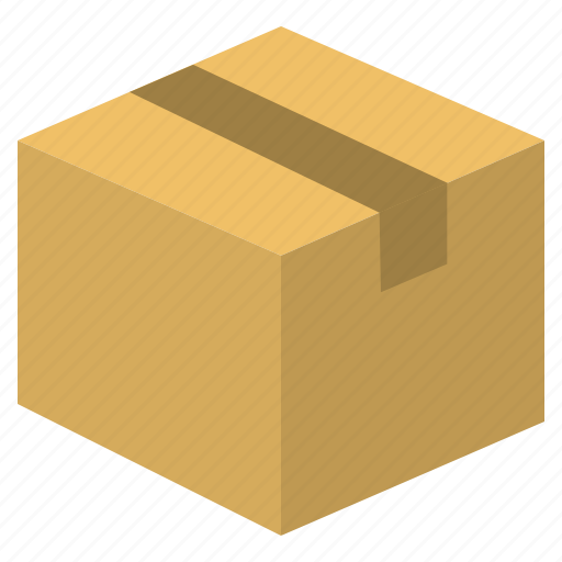 box, delivery, package, shipping, transport icon
