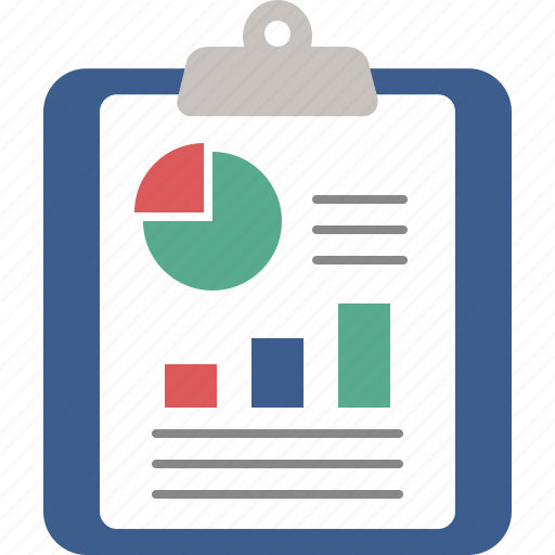 analysis, business, chart, charts, clipboard, graph icon