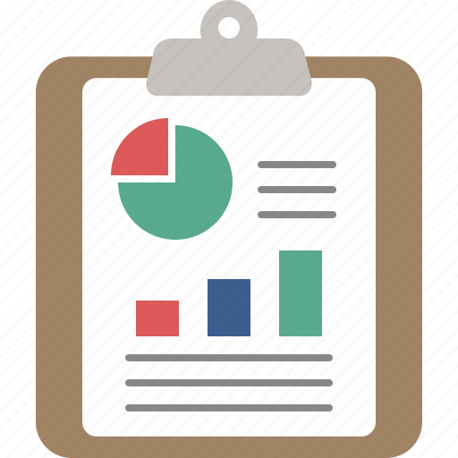analysis, business, chart, charts, clipboard, graph, report icon