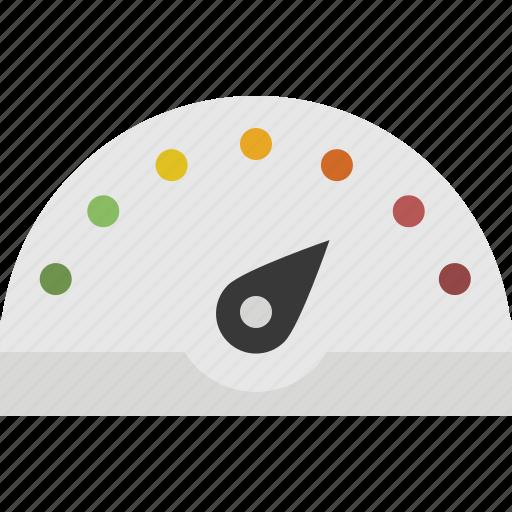 dashboard, gauge, meter, performance, speedometer icon