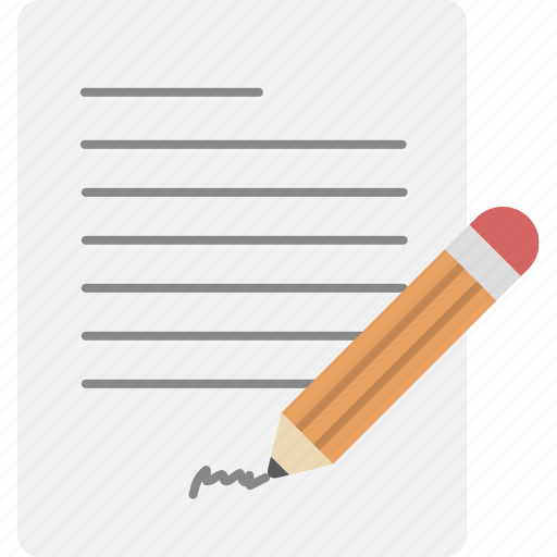document, paper, sign, text icon
