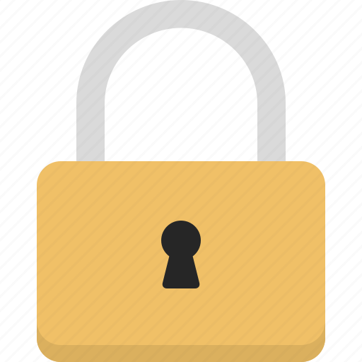 lock, locked, password, privacy, secure icon