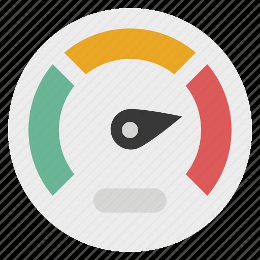 dashboard, gauge, indicator, measure, meter, performance, speedometer icon