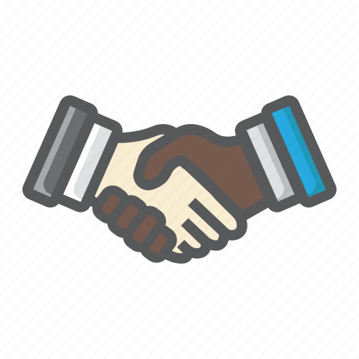 agreement, business, contract, deal, handshake, meeting, partnership icon