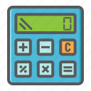 business, calculate, calculator, economy, finance, marketing, math icon