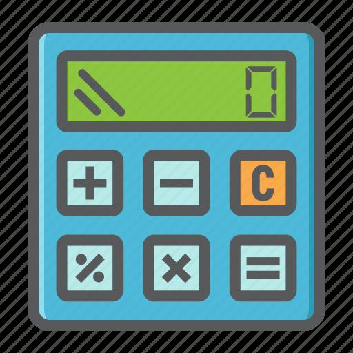 business, calculate, calculator, economy, finance, marketing, math icon