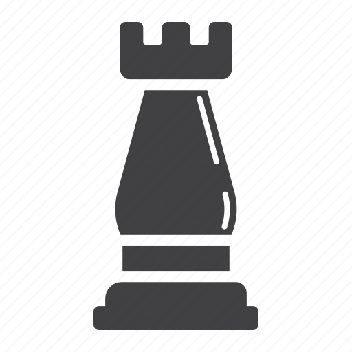 business, chess, figure, leadership, plan, rook, strategic icon