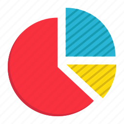 business, chart, circle, diagram, graph, marketing, pie icon