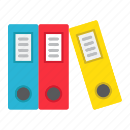 arch, binder, business, file, folder, lever, office icon