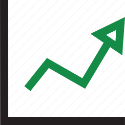 business, growing, stock icon
