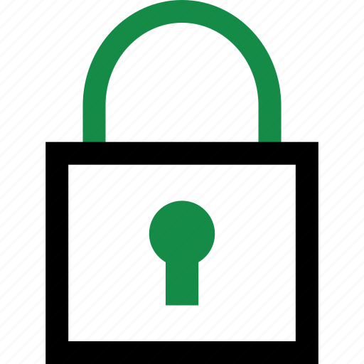 lock, locked, secured icon
