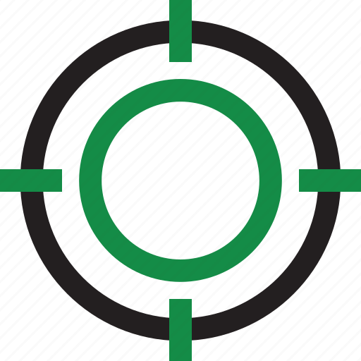 business, strategy, target icon