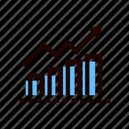 graph, graphics, grid, infographic, line, statistics, stats icon