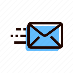 correspondence, grid, letter, message, notification, post icon