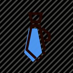 costume, dress code, grid, tie icon