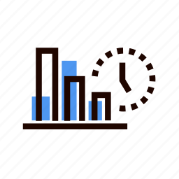 graph, grid, infographic, line, management, statistics, stats icon