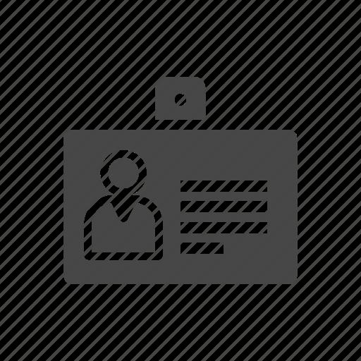 business card, card, id card, office card icon