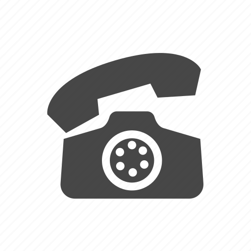 home phone, office, phone, radial phone icon
