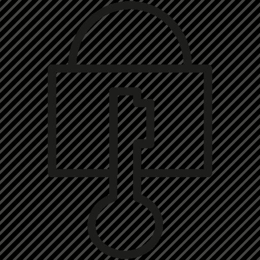 key, lock, locker icon icon