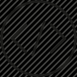coding, windows icon icon