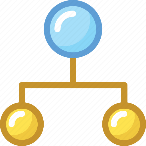 Hierarchy, network, organization structure, sitemap, workflow icon - Download on Iconfinder