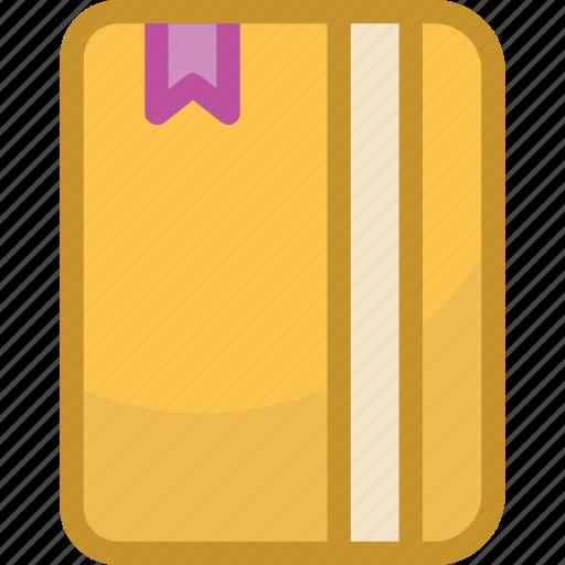 diary, directory, jotter, memo, memo book icon