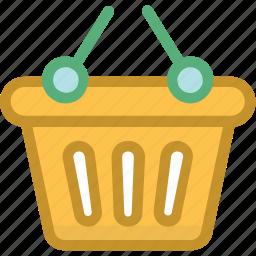basket, online store, purchase, shopping, shopping basket icon