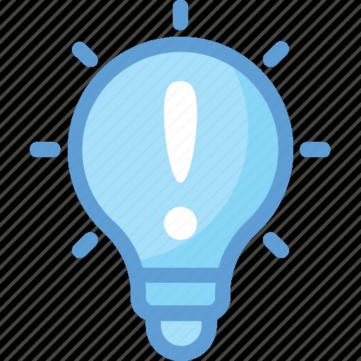 bulb, idea, info, info sign, light bulb icon