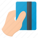 bank, card, credit, hand, money, pay, payment icon