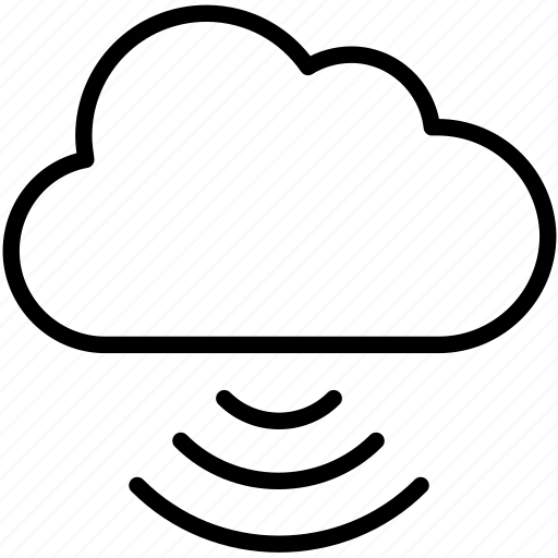 cloud computing, computer, connection, devices, network, share icon icon