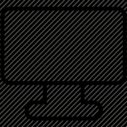 apple, blank, business, computer, desktop, display, electronic icon icon