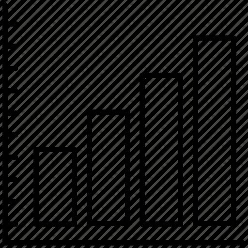 analytics, chart, graph icon icon