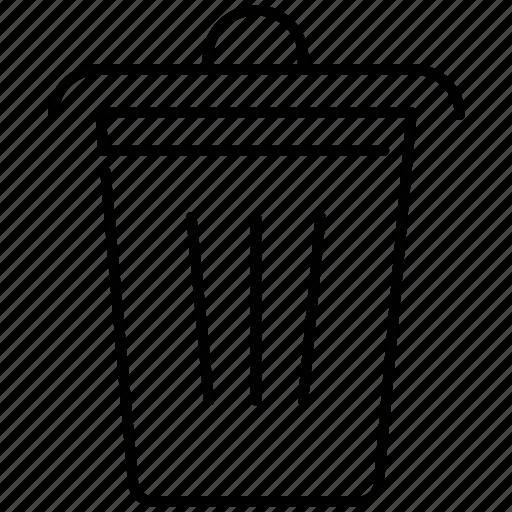 bin, dustbin, garbage, trash icon icon