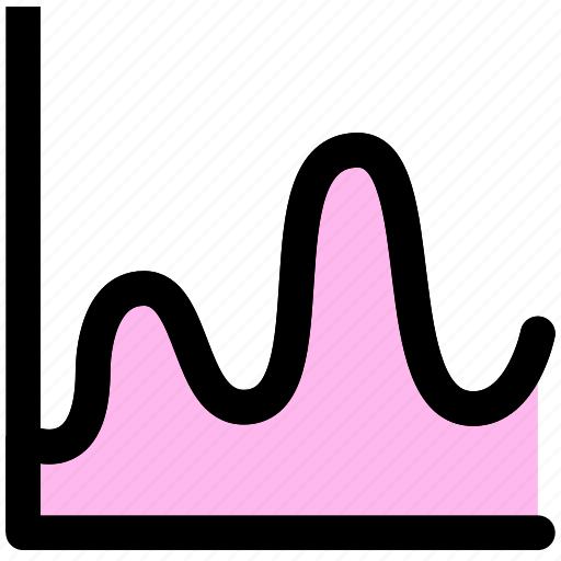 analysis, diagram, graph, infographic, marketing, statistical, trend icon