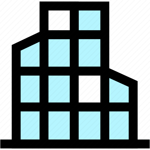 building, business, construction, house, office icon
