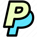business, payment, paypal icon