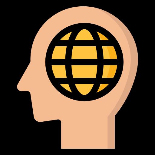 business, global, marketing, mindset, thinking icon