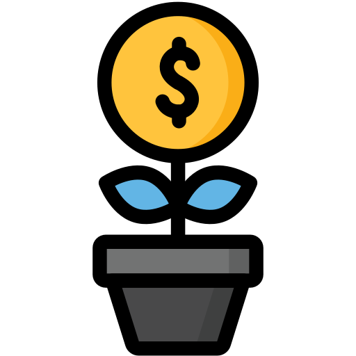 Growing, growth, money, dollar, business, finance icon - Free download