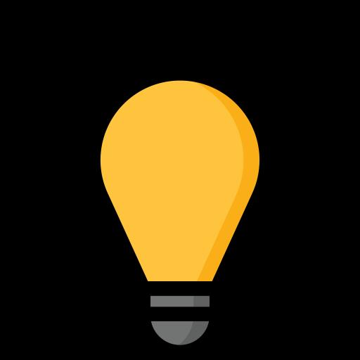creative, energy, idea, light, power icon