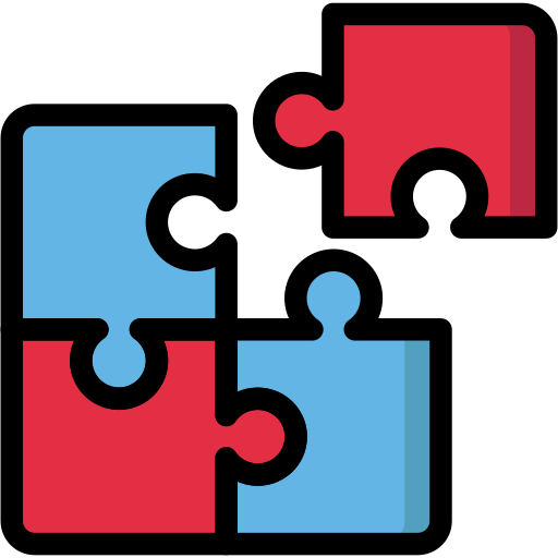 business, information, jigsaw, piece, processing, puzzle, teamwork icon