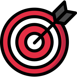 business, dart, goal, office, seo, target icon