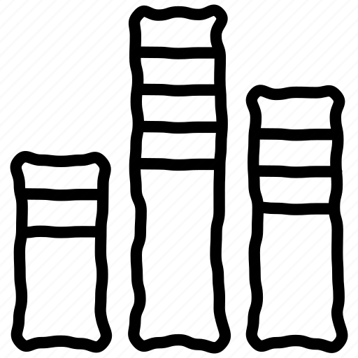 bars, chart, data science, statistics icon