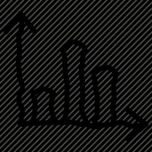 bar, bars, chart, histogram icon