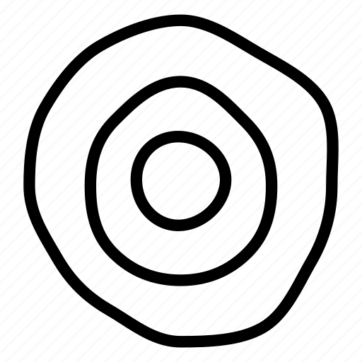 business, circles, goal, target icon